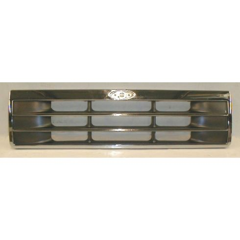 1991-94 Explorer Chrome & Silver Grille