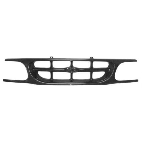 95-01 Ford Explorer Paintable Black Grill