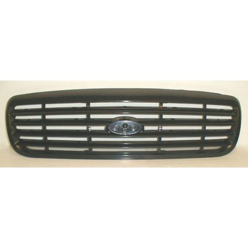 98-02 Ford Crown Victoria Horz Blk Grille