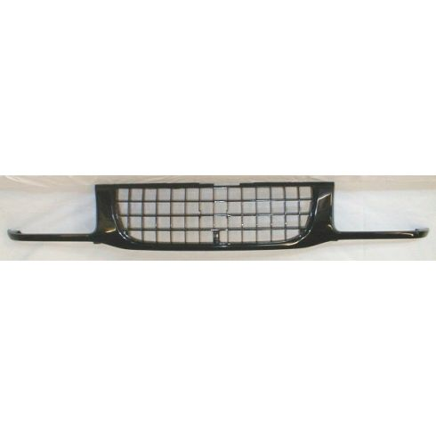 1993-97 Isuzu Rodeo Grille Gloss Black