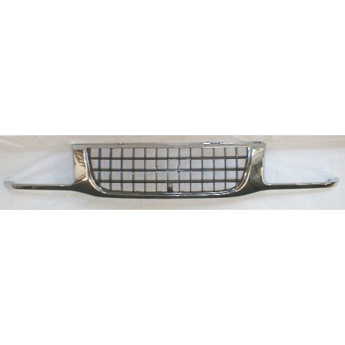 1993-97 Isuzu Rodeo Grille Chrome and Black