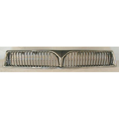 1999-01 Mitsubishi Galante Grille Chrome and Black
