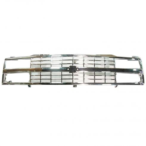 88-93 Chevy C/K Pickup All Chrome Grille