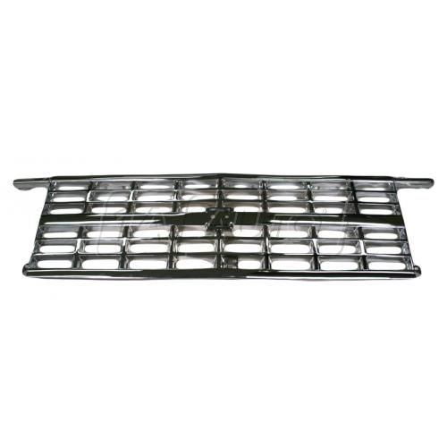 1988-91 Chev R/V Pickup Grill for Dual Headlights All Chrome Grille