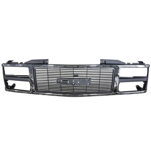 88-93 Gmc Pickup 1500 2500 Chrome Grille