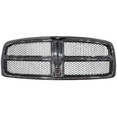 2002-05 Dodge 1500 PU; 2003-05 2500 3500 Chrome & Gray Grille