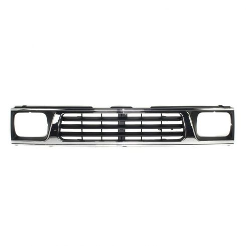 93-96 Mitsubishi Pickup Truck Chrome & Black Grille