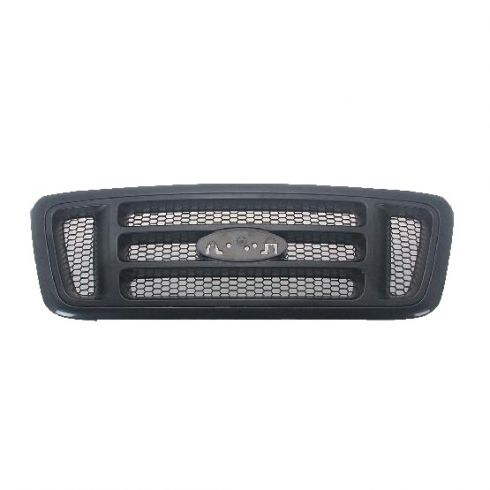 04-08 Ford F150 Bar Design Black Grille (Super Duty Style)