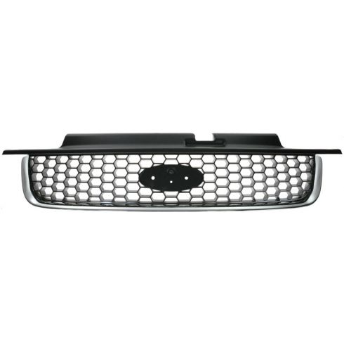01-04 Ford Escape XLT Chrome & Black Grille
