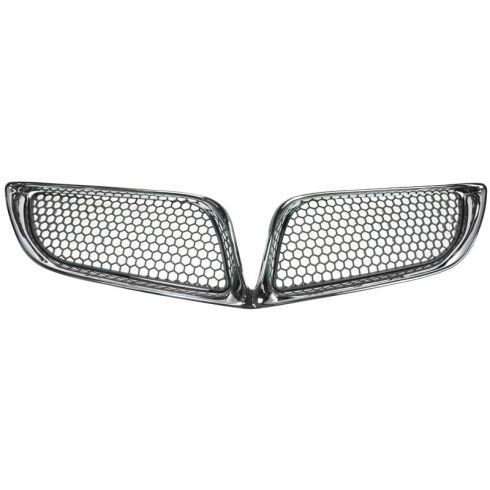 00-05 Pontiac Bonneville SE Black Grille PAIR w/Chrome Frame