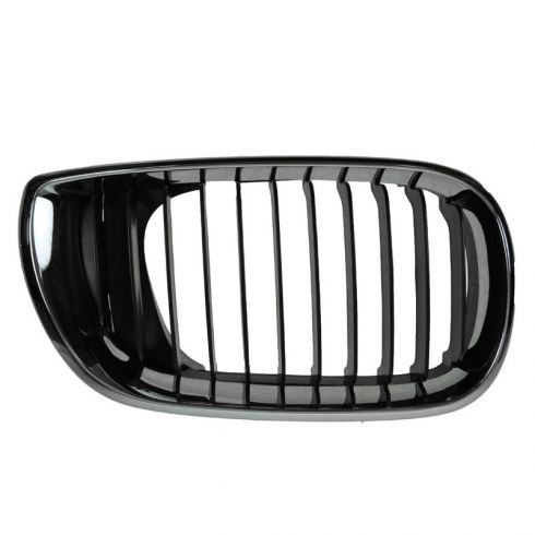 02-05 BMW 320i, 325i, 325Xi, 330i, 330Xi (4DR) Chrome & Black Upper Grille RH