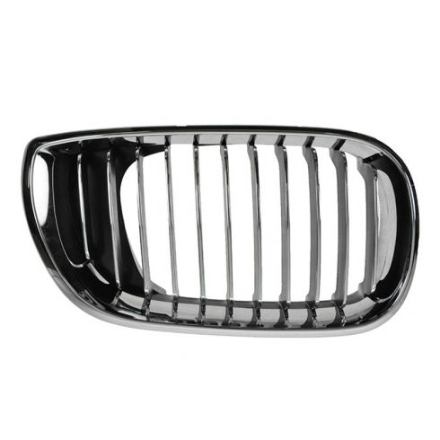 02-05 BMW 320i, 325i, 325Xi, 330i, 330Xi (4DR) All Chrome Upper Grille RH