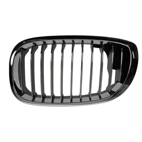 04-06 BMW 325Ci; 330Ci Chrome & Black Upper Grille LH
