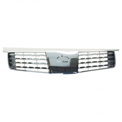 04-06 (thru 9/05) Nissan Maxima Chrome & Gray Grille