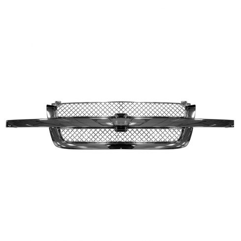 03-07 Chevy Silverado 1500, 2500, 3500; 03-06 Avalanche ALL CHROME Grille