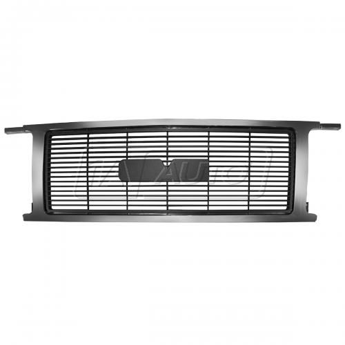 92-96 GMC G Series Van (w/ dual HL) Grille Chrome