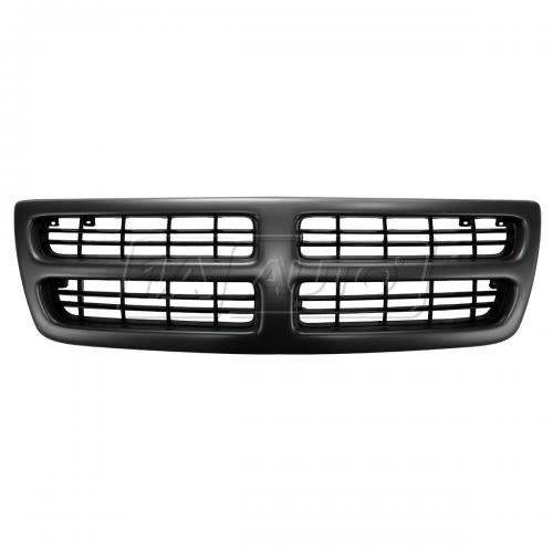 98-03 Dodge Full Size Ram Van Grille PTM & Black
