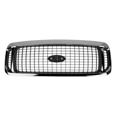 00-04 Ford Excursion Grille Chrome & Charcoal