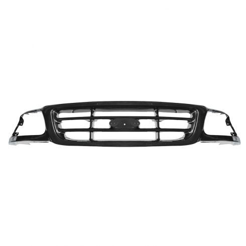 99-03 Ford F150; 04 Heritage; 99 F250LD Grille Crossbar Style PTM