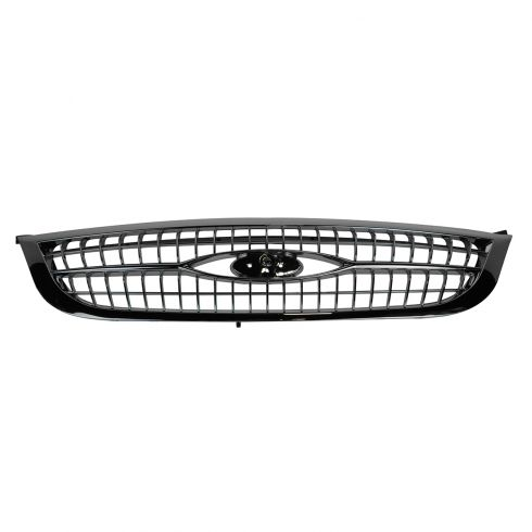 99-00 Ford Windstar Grille Chrome & Black