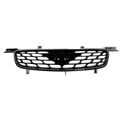 00-01 Nissan Sentra; 02-03 GXE Grille Chrome & Black