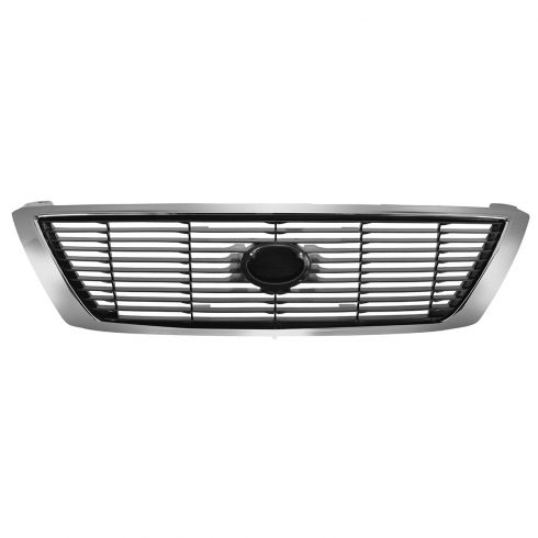95-97 Toyota Avalon Upper Grille Chrome & Gray
