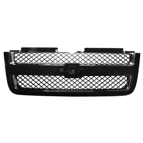 06-09 Chevy Trailblazer; 06 EXT (w/o Full Width Bar) Grille Chrome PTM