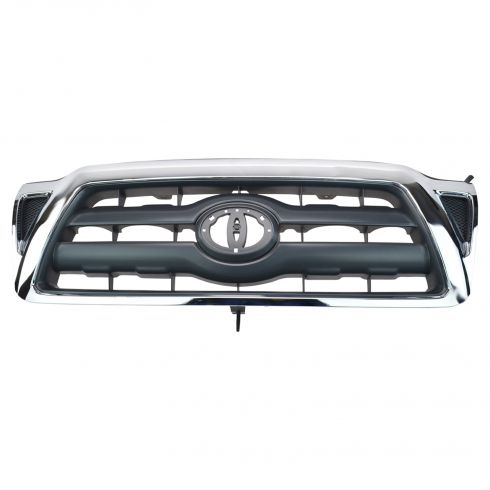 05-10 Toyota Tacoma Black w/Chrome Surround Grille