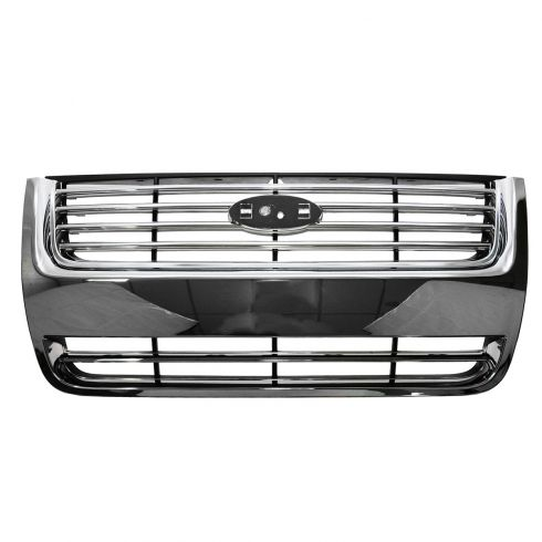 06-10 Ford Explorer (4 Bar Design) Chrome & Black Grille