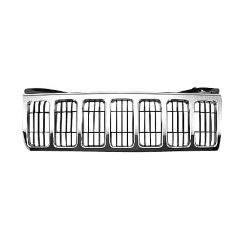 08-10 Jeep Grand Cherokee Grill Chrome w/ Black Bars