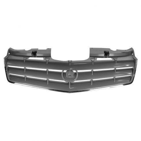 06-09 Cadillac SRX (ex Sport Pkg) Grille Chrome & Gray