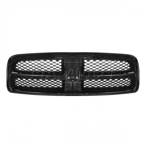 09-10 Dodge Ram 1500, 11-12 Ram 1500 Grille Black w/ Black Honeycomb