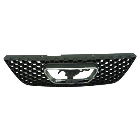 99-04 Ford Mustang Grille Chrome & Black