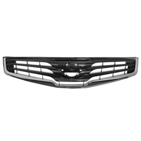10-12 Nissan Sentra 2.0 (ex SR) Grille Chrome & Dark Silver