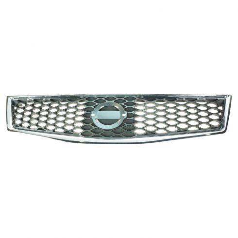 07-12 Nissan Sentra 2.5; 09-2/09 2.0L SR Grille Black & Chrome