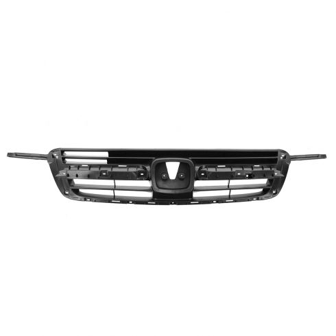 02-04 Honda CR-V Grille Dark Gray