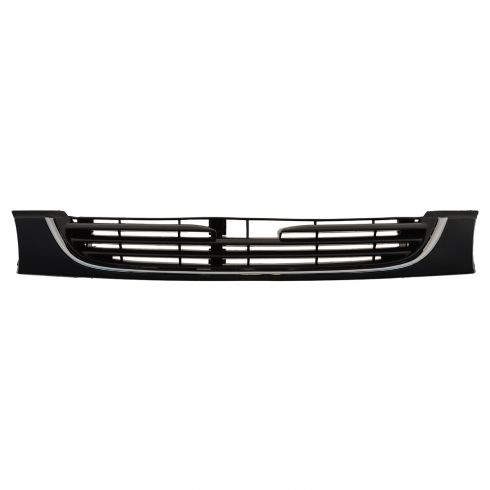 96-97 Mazda 626 Grille Black w/ Chrome Trim PTM Frame