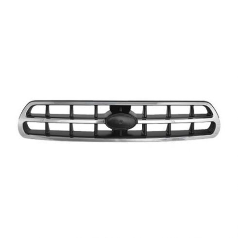 00-02 Subaru Outback Grille Black/ Silver & Chrome