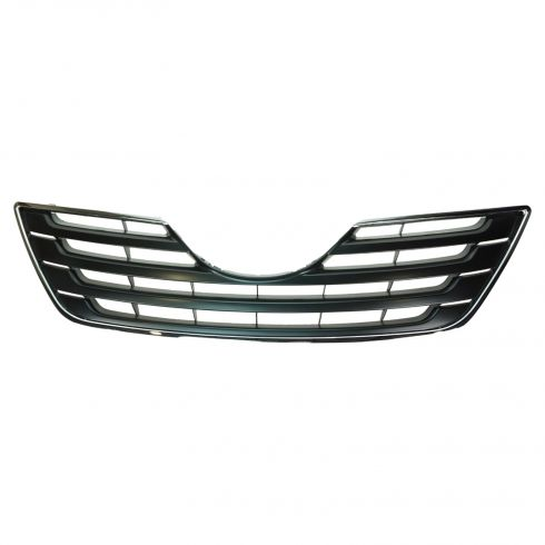 07-09 Toyota Camry XLE Upper Grille PTM w/ Chrome Frame