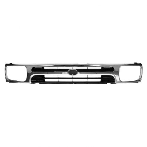 92-95 Toyota Pickup 2WD Grille Chrome & Black