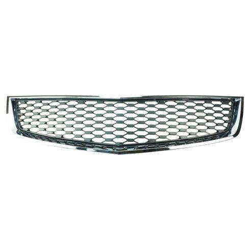 10-13 Chevy Equinox LS, LT Lower Center, LTZ Lower Flat Black w/Chrome Trim Grille