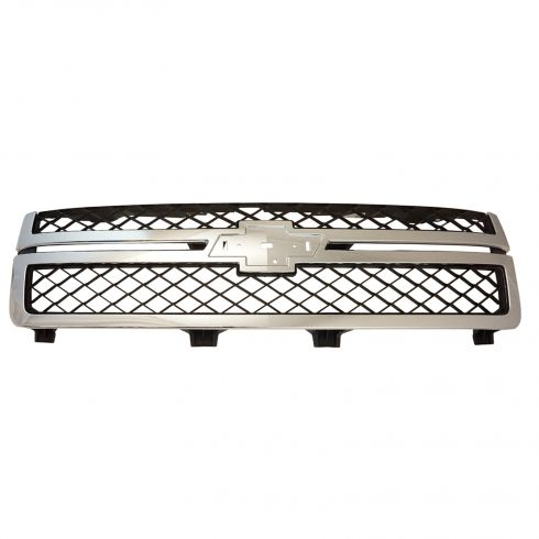11-14 Chevy Silverado 2500HD, 3500 Dark Gray & Chrome Grille