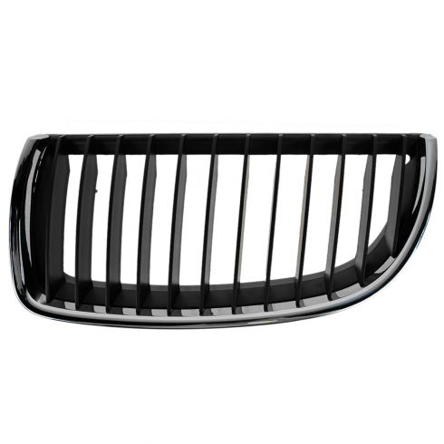 06 BMW 325i; 330i; 07-08 328i;335i Chrome & Blk Upper Grille LH