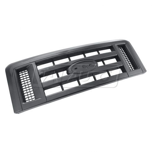 08-14 Ford E150, E250, E350 Textured Black Grille