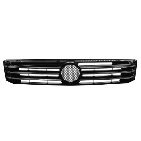 12-14 VW Passat Chrome & Black Upper Grille