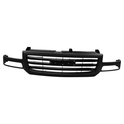 03-07 GMC Sierra 1500; 03-04 2500 Grille Gray Textured