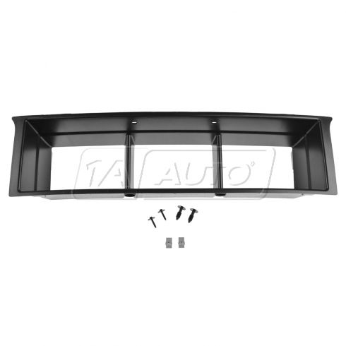 2014 Ford F150 w/3.5L Ecoboost Black Lower Grille Panel Insert w/Mounting Hardware (Ford)