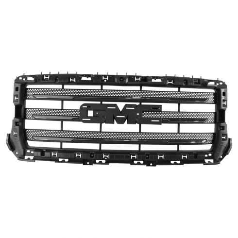 14-15 GMC Sierra 1500 (w/All Terrain Pkg) Chrome & Black w/PTM Surround Grille (w/o Emblem) (GM)