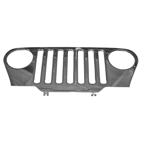 97-06 Jeep Wrangler Chrome Grille Decor Kit (Mopar)