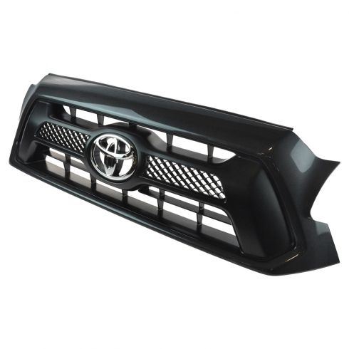 12-15 Toyota Tacoma Sport (Magnetic Gray Code: 1G3) Painted Grille w/Toyota Emblem (Toyota)